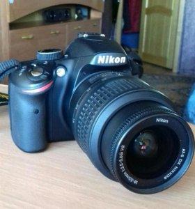 Фотокамера Nikon3200d