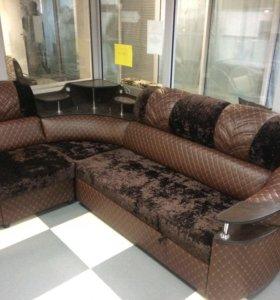 """Угловой диван """" Премиум """" с креслом!!! НОВЫЙ!!!"""