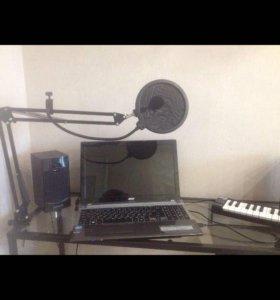 Стойка держатель для микрофона