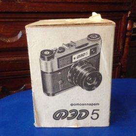 Новый фотоаппарат ФЭД-5.