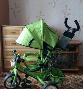 Детский 3х колёсный велосипед