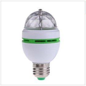 Светодиодная полноцветная вращающаяся лампа LED