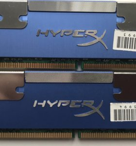 DDR 2 Kingston HyperX 1Gb x 2 штуки