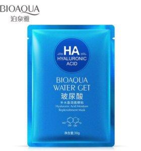 Маска с гиалуроновой кислотой Bioaqua 30g