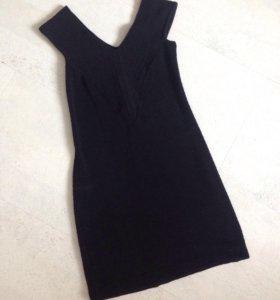Плотное бандажное платье