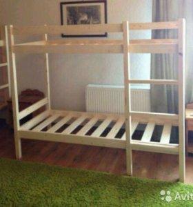 Двухъярусные кровати новые