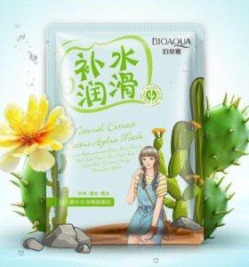 Тканевая маска с экстрактом кактуса 30g Bioaqua