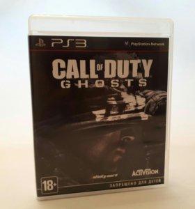 Игра для sony PS3 COD Ghosts