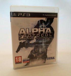 Игры для sony PS3 Alpha protocol