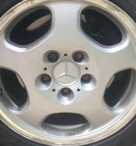 Диски Mercedes и резина зима