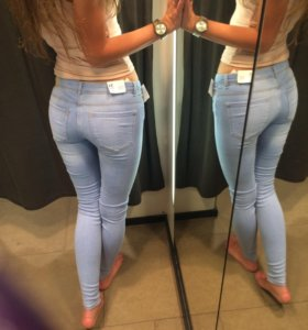 Новые джинсы Zara xs-s