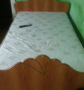 Кровать 2×120 с матрасом