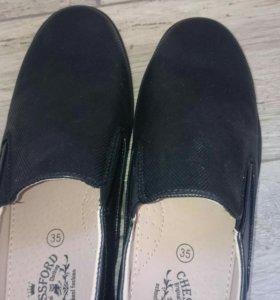 Полуботинки новые,школьная обувь