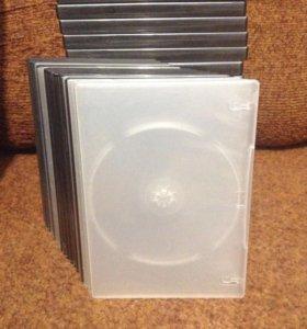 Коробки для дисков DVD,CD