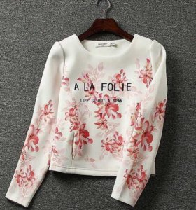 Новинка! Модный Свиншот-Блуза A LA Folie