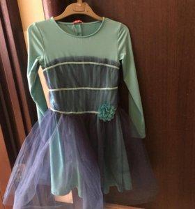 Платье для девочки р. 9( 128-134)