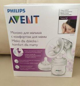 Новый Молокоотсос ручной Philips Avent