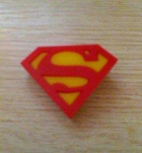 Значек super men