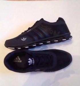 Adidas Feather черные Новые.