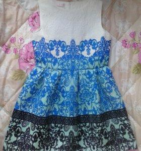 Платье m новое с цеником