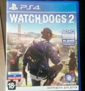 Продам игру Watch Dogs 2 на Sony PlayStation 4 в о