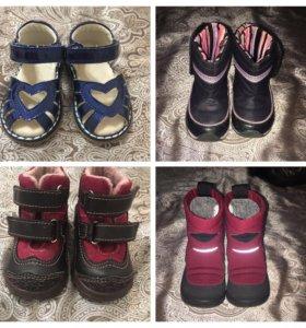 Сапоги, ботинки и босоножки