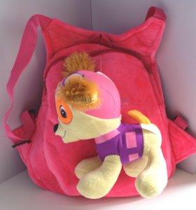 Детские рюкзаки с игрушками из мультфильмов, новые