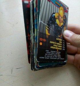 Человек-Паук герои и злодеи суперколлекция карточе