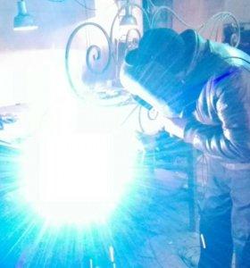 Производство металлоконструкций. Ограждения