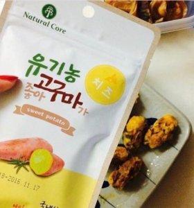 Лакомство для собак корейского производства