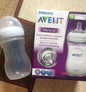 Бутылочка Avent, новая