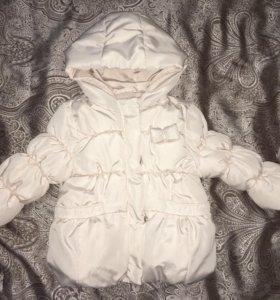 Куртка Zara р-р 74