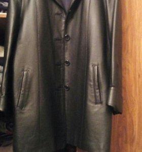 Продам кожаный пиджак куртка