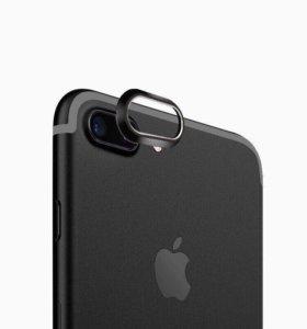 Защитное кольцо на iPhone 7 plus + ключ для сим
