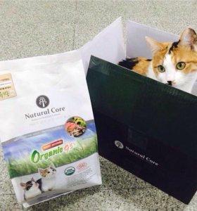Корейский корм Natural Core для кошек