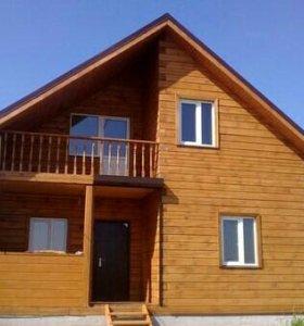 Строительство из бруса, дома, бани, отделка.