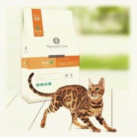 Корейский корм для кошек Natural Core