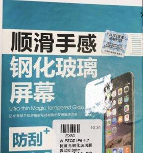 Стекло для iPhone 6, 6s