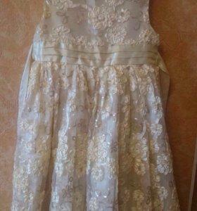Платье для девочки рост 128