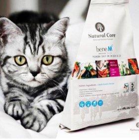 Корм Natural Core для кошек