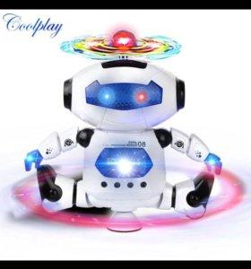Робот музыкальный танцующий