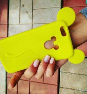 Чехол силиконовый для iPhone 6-6s