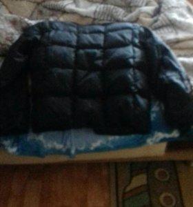 Мужская куртка с подкладом