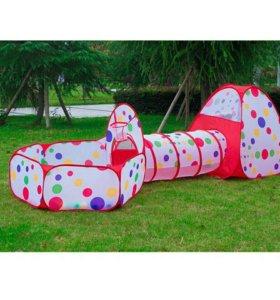 Детская палатка с бассейном