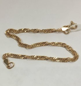 Новый золотой браслет