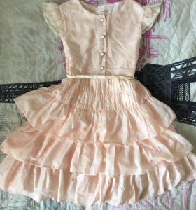 Нежное платье/сарафан для девочки 128 см