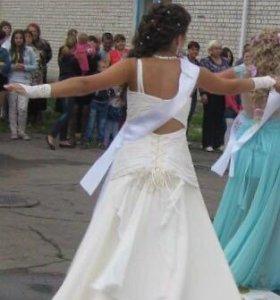Выпускное свадебное платье