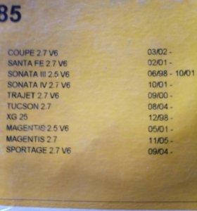 Ремень грм на хендай киа V6 2,7л.