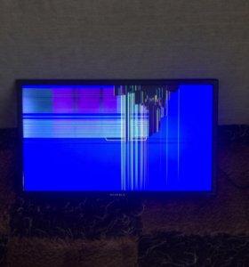 Телевизор супра, диагональ 24