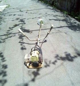 Покос травы, спил деревьев, вспашка мотоблоком.
